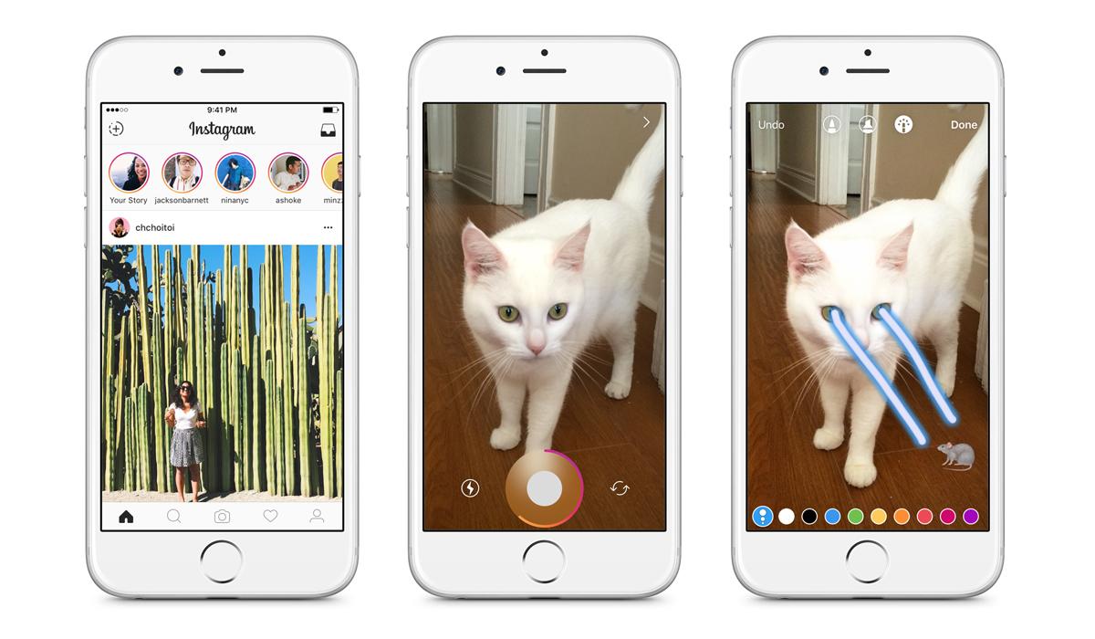 La aplicación integró las Stories para que las personas puedan publicar sobre sus actividades diariamente. (Foto: Instagram)
