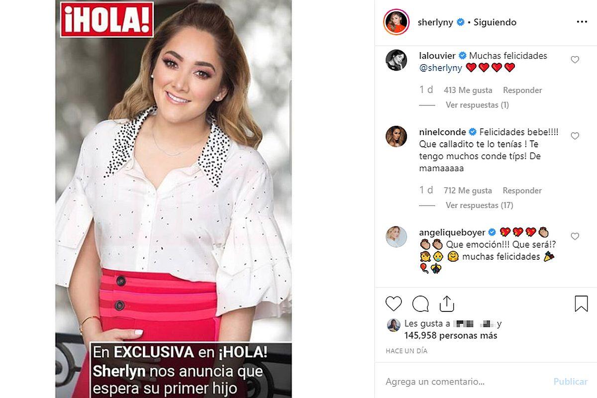 """Ninel Conde comentó la gran noticia de su amiga Sherlyn sin imaginar que lo usuarios la iban a """"trollear"""". (Foto: Instagram)"""