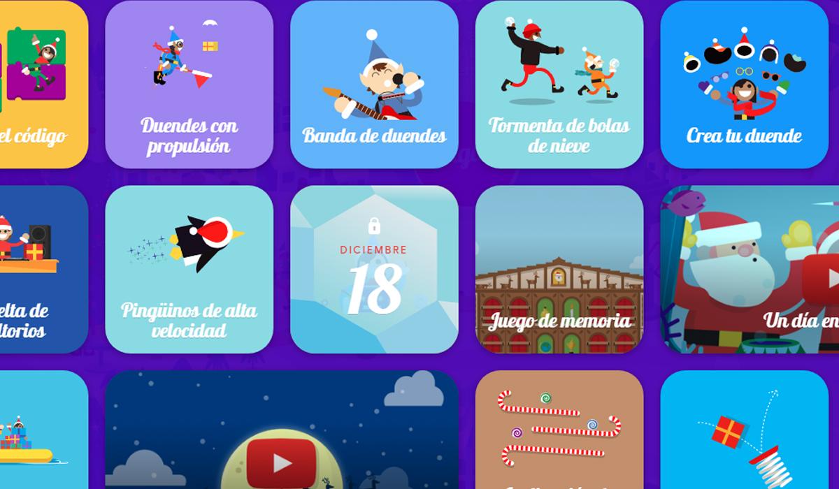 En Santa Tracker cualquier persona puede jugar con las divertidas funciones de Google Maps. (Foto: Google)