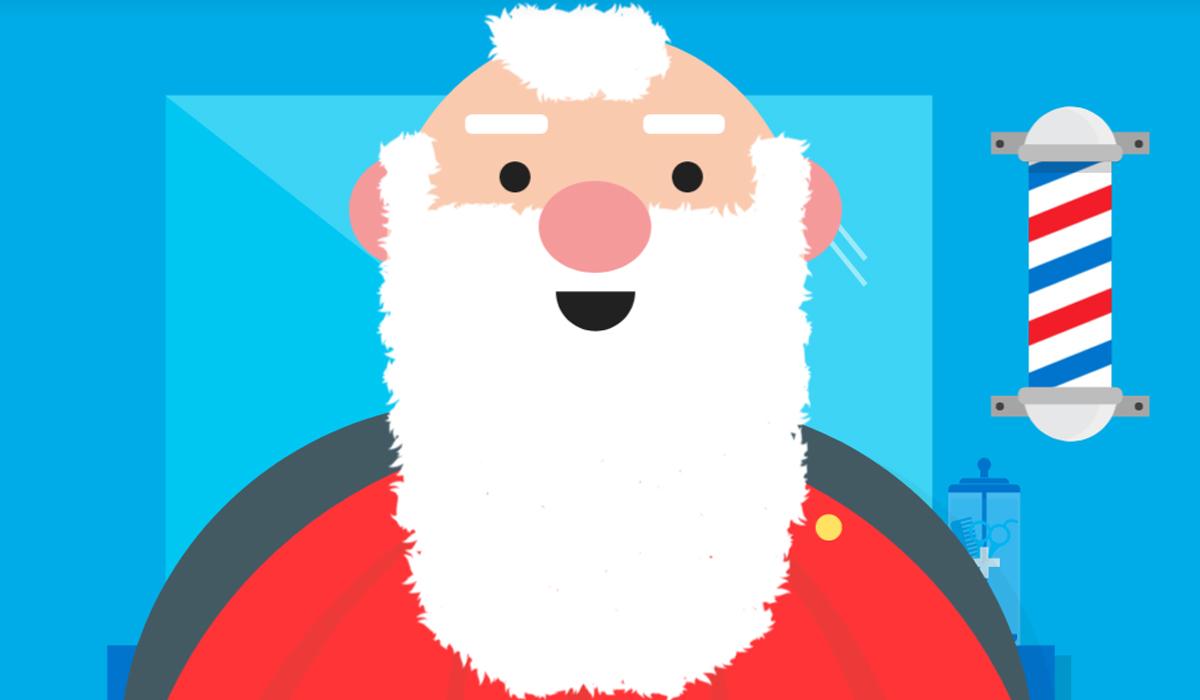 Incluso puedes tomarte una selfie con Papa Noel. (Foto: Google)