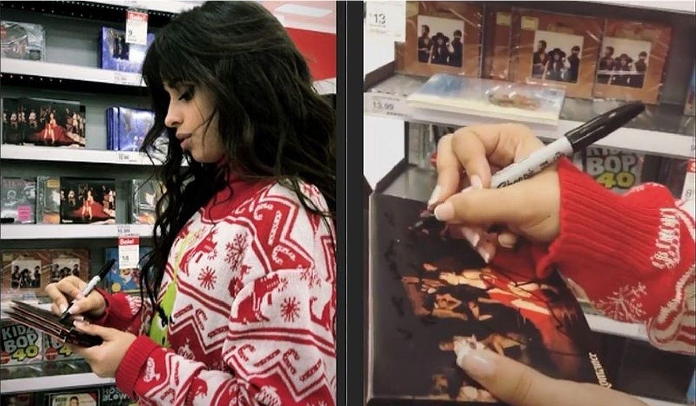Camila Cabello dejó un recuerdo muy especial en algunos discos de