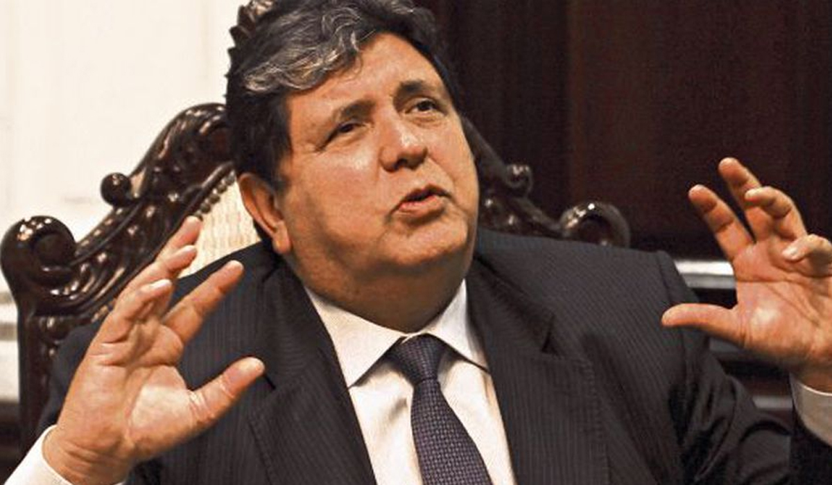 Otro de los personajes que marcaron fue el ex presidente Alan García, quien falleció en abril de este año. (Foto: El Comercio)