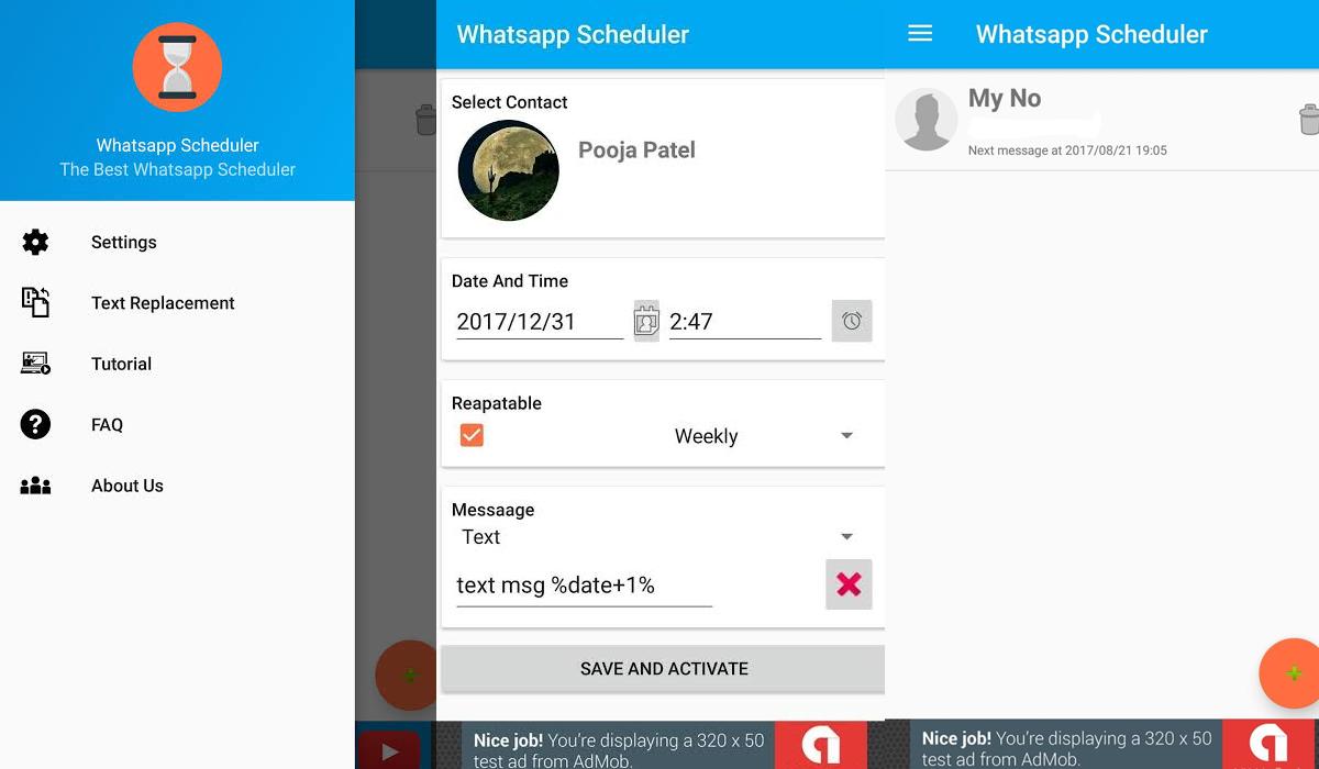 ¿Quieres programar todos tus mensajes de WhatsApp? Entonces usa estas aplicaciones. (Foto: WhatsApp)