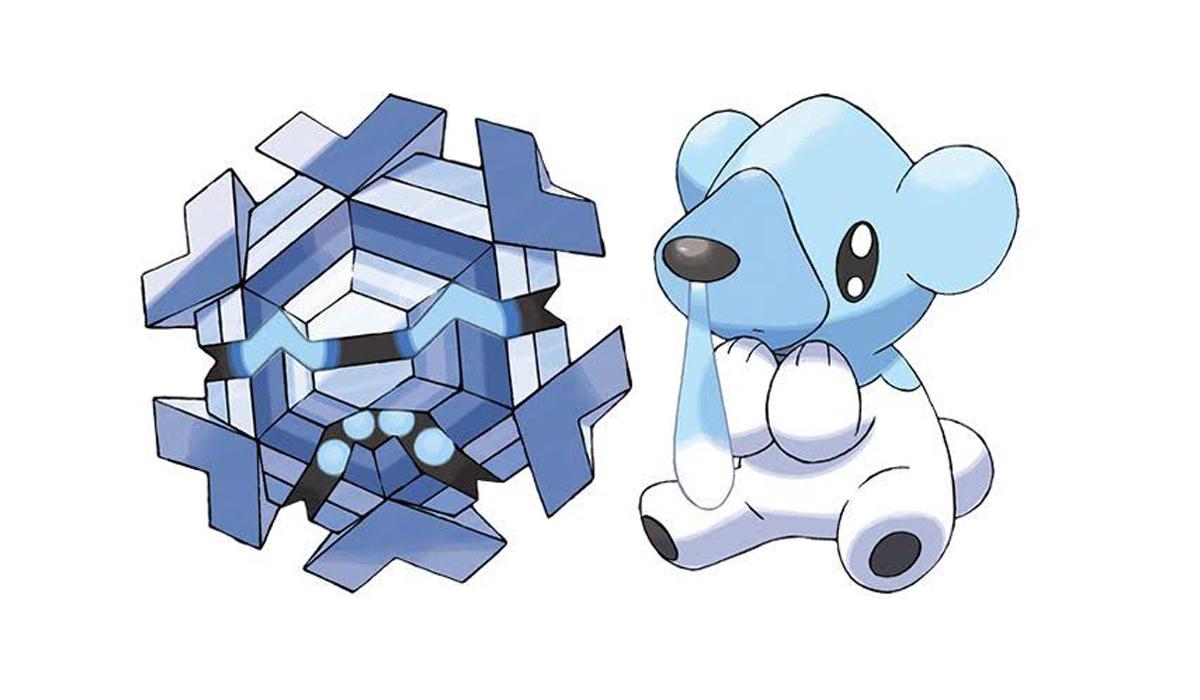 Cryogonal aparece solo cuando activar el módulo de hielo en las poképaradas. (Foto: Nintendo)