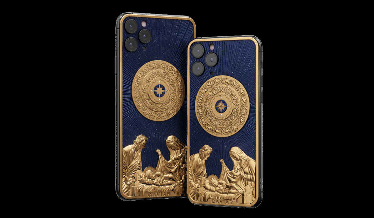 El cuerpo de este iPhone 11 Pro es de oro de ley de 750 milésimas.