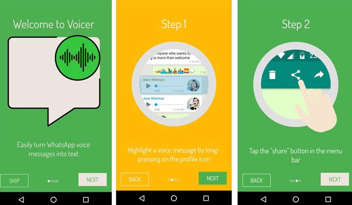 Lo primero que debes hacer es buscar VoicePop en Google Play para poder realizar este truco. (Foto: WhatsApp)