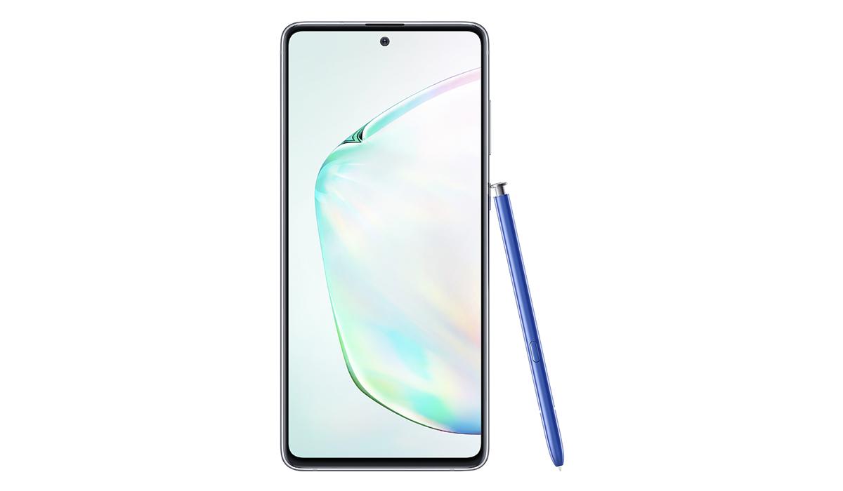 El Samsung Galaxy Note 10 Lite llega con su S Pen. (Foto: Samsung)