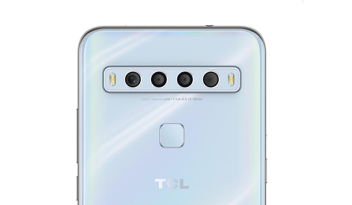 Así es la parte trasera de los smartphones de TCL. (Foto: TCL)