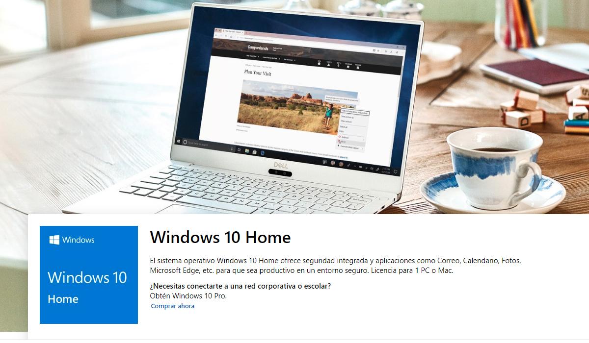 Comprar la licencia de Microsoft de Windows 10 cuesta 154 euros. (Foto: Microsoft)