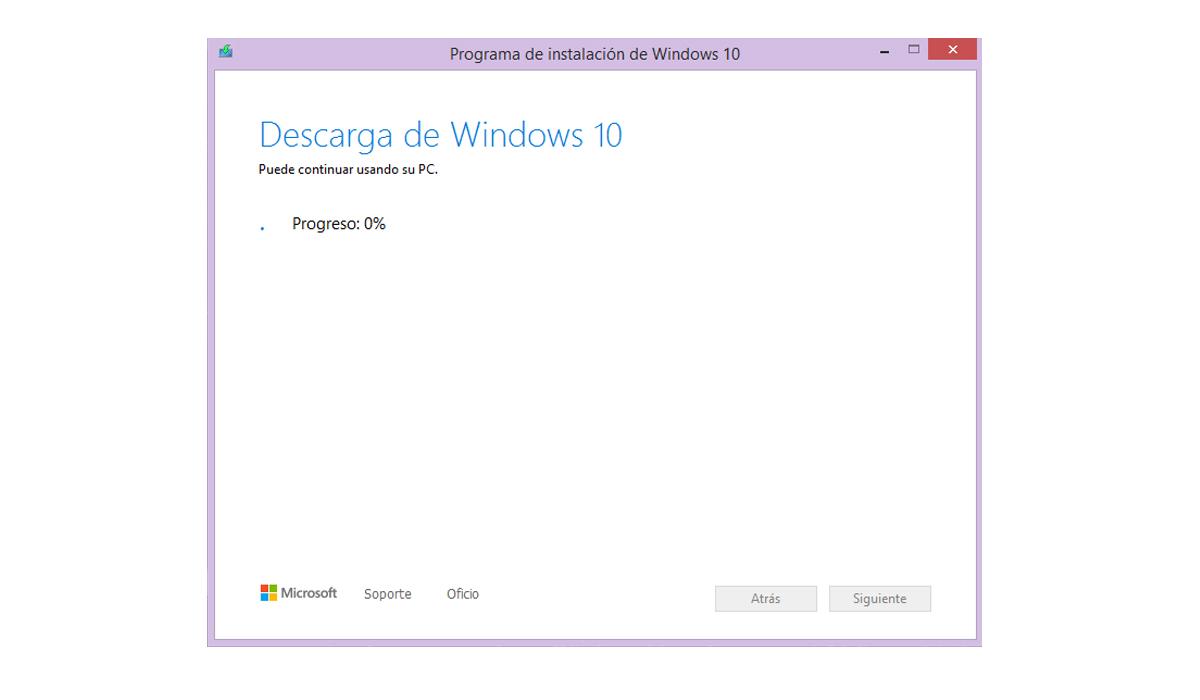 Mediante este enlace podrás descargar Windows 10 totalmente gratis, siempre y cuando cuentes con la licencia original de Windows 7.