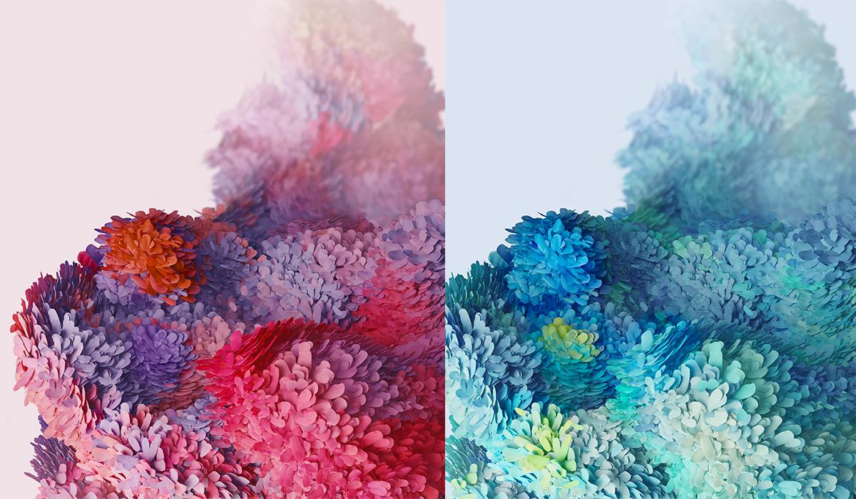 Así son los wallpapers del próximo Samsung Galaxy S20. (Foto: XDA)