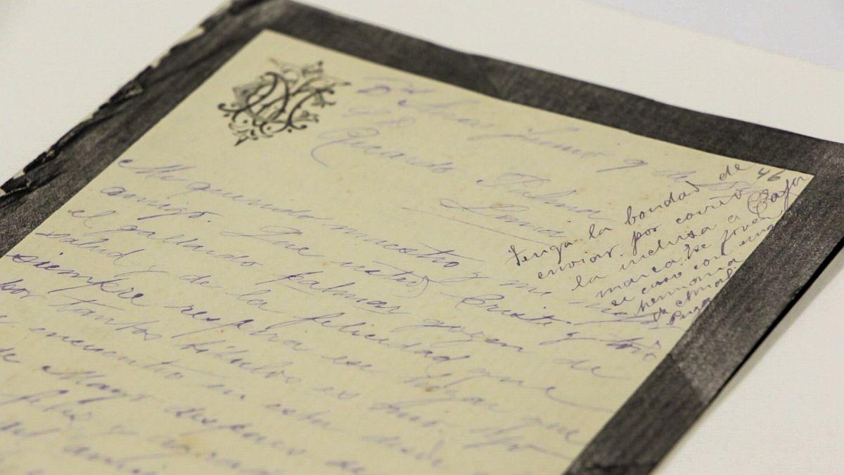 Las 407 cartas de Ricardo Palma son Patrimonio Cultural de la Nación . (Foto: BNP)
